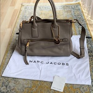 Authentic Marc Jacobs leather tote